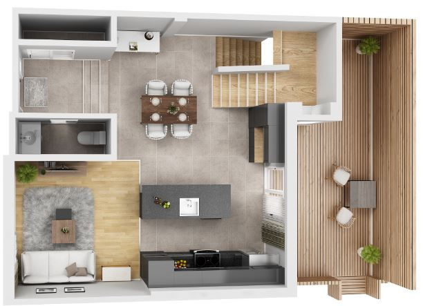 significance of 3D floor layout